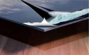 Wandbild Material Alu-Dibond