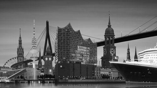 Hamburg Collage 17.0 sw