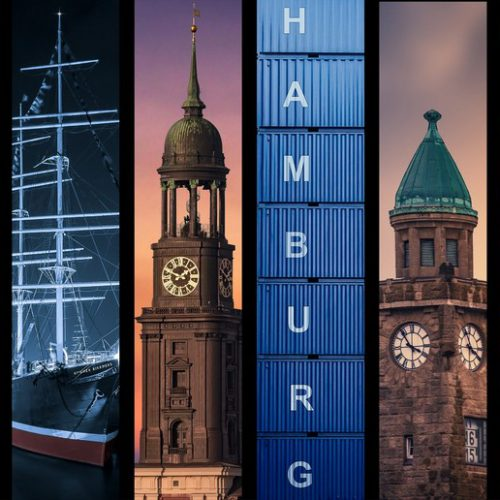 Hamburg collage 13.0 by stativkunst.de