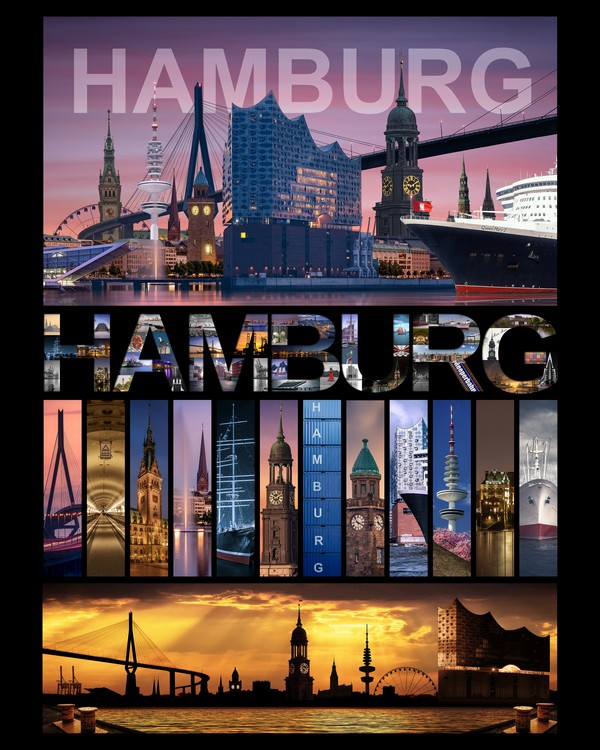 Hamburg collage 18