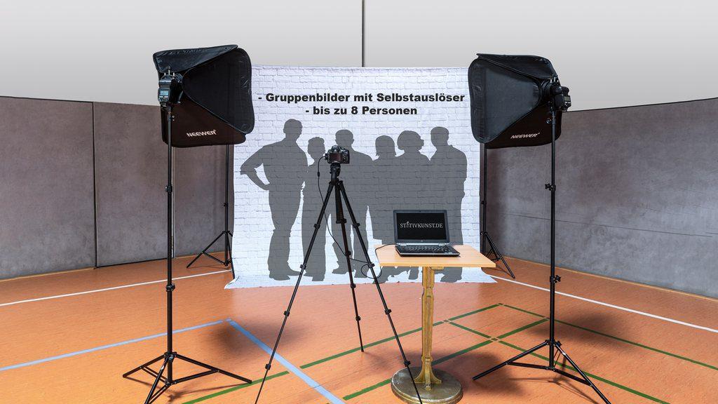 Fotobox für 8 Personen by stativkunst