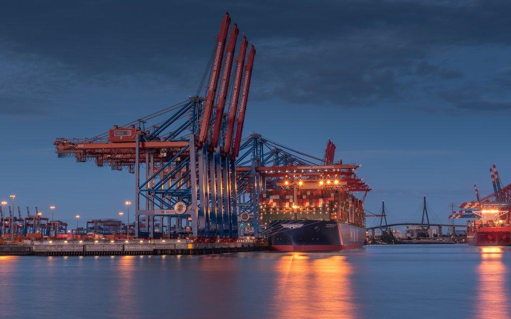 Containerschiff größte der Welt1